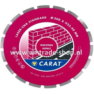 CARAT LASER BAKSTEEN / ASFALT STANDAARD - CNA Ø300mm