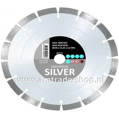 CARAT UNIVERSEEL ECONOMY - SILVER Ø230mm