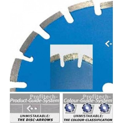 ProfiTech diamantzaagblad Laser EHS Asfalt Ø300 / 25,4 Profi Line