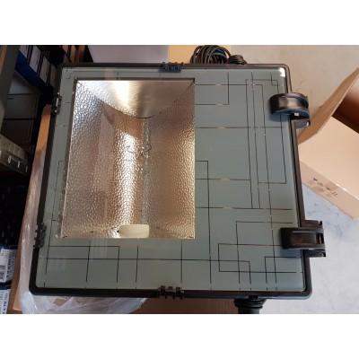 HQI-T armatuur lamp 400W / 230V-lamp-10 meter 3x1,0 mm