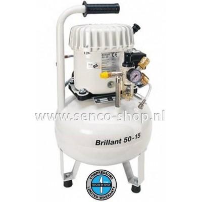"""Fluister"" compressor Brillant 50-15"