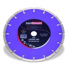 Diamantzaagblad Laser Uni Universeel Ø230mm