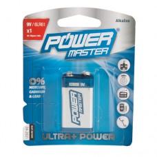 9V super alkaline batterij 6LR61, 1 pk
